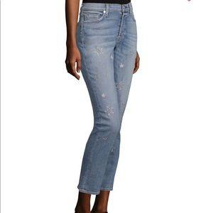 HUDSON Riley Crop Jeans Star 28